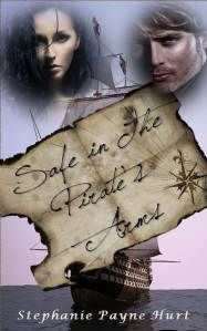 Safe in the pirate's armsFront Cover
