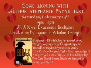 book signing ad
