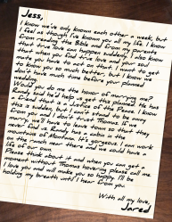 Ghost Lover letter